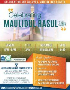 Maulidul Rasul – Bosnian Islamic Center